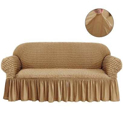 Elastic sofa cover image 5