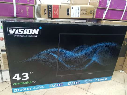 "43"" vision android smart tv"
