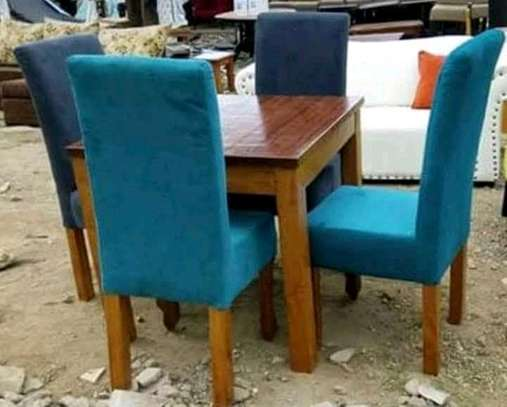 Fabulous Simple Quality 4 Seater Dining Set image 1