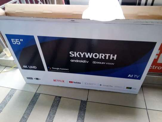 55 inches skyworth android tv image 1