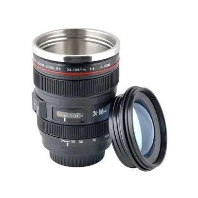 Camera Lens Coffee Cup, Travel Mug image 3