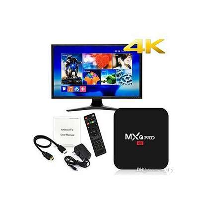 MXQ Pro Smart 4K Android TV Box Amlogic Quad Core 1GB RAM 8GB ROM – Black image 3