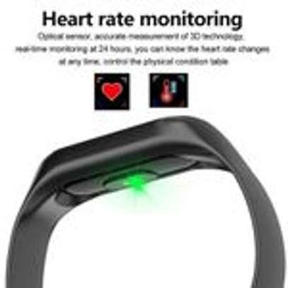 Generic M3 Smart Bracelet Heart Rate Monitor,Sports Pedometer image 4