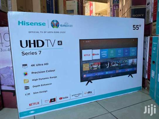 Hisense 55'' UHD B706 android tv image 5