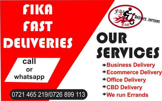 Errands and parcels Delivery in and outside Nairobi image 2