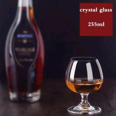 6pcs Cognac Brandy Glass transparent image 2