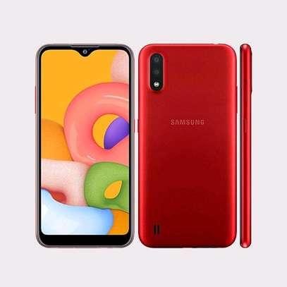 Samsung Galaxy A01 Red 16GB 2GB 13MP+2MP 5.7″ 3000mAh 4G Dual SIM image 1