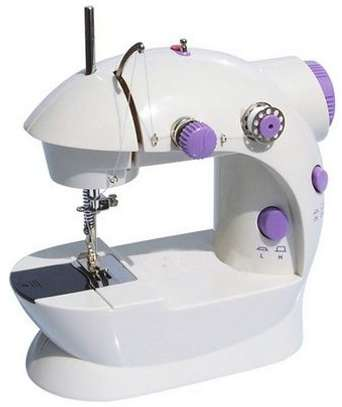 Portable Home Handwork Electric Mini Sewing Machine With Led Light image 2