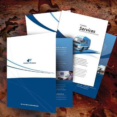 Poster, Brochures and Flyer Design/Print  image 2