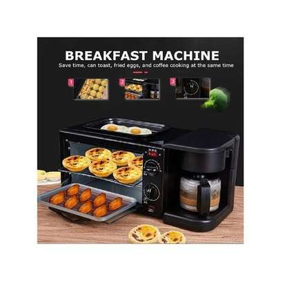 3 In 1 Multi Function Breakfast Maker Machine With Grill image 3