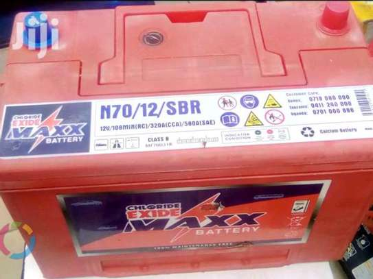 Chloride Exide N70/12/SBR MAXX Battery 100ah image 2
