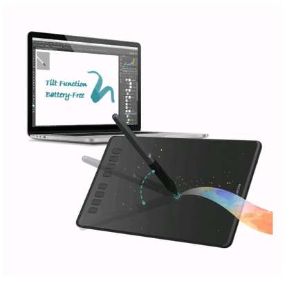 HUION H950P Graphics Pen Tablet with Battery-Free Pen & Tilt image 1