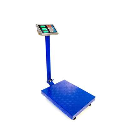 150KG Digital Rechargeable Platform Weight Scale image 1