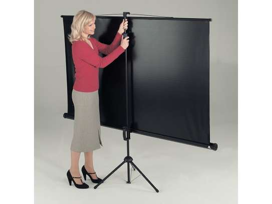 Tripod Projection Screen for Sale 60x60 Inches image 2