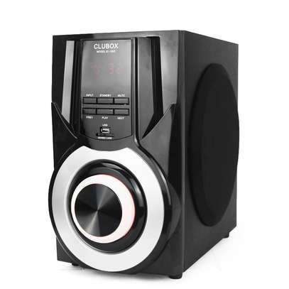 CLUBOX IC-1003 HI-FI BT Multimedia Bluetooth Speaker System 12000W PMPO. black 60w IC-1003 image 2