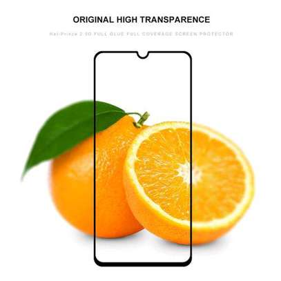 Samsung Galaxy A70 Glue Full Screen Tempered Gl Protective Film transparent image 2