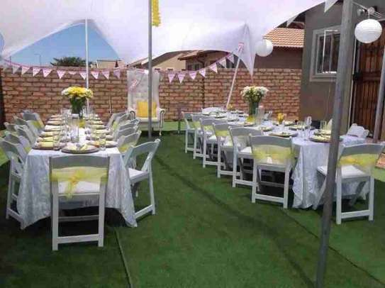 Tables,Chairs,Linen,Tiffany,Wimbledon,Stretch Tents,Marquees For Hire.We Do Decor, Events image 5
