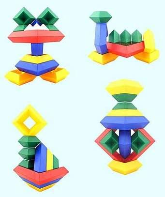 Kids/Children Deluxe Set 30 Pc Building Block Set Educational Toy image 8