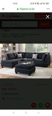 Sofa set made by hand wood and good quality material made image 7