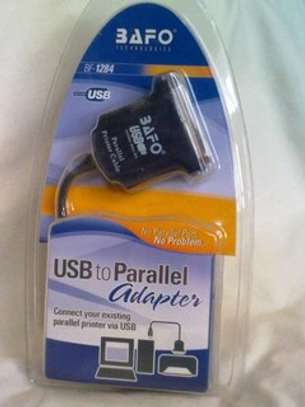 Bafo USB to Parallel Printer Cable image 2