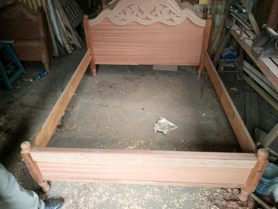 Hardwood beds image 1