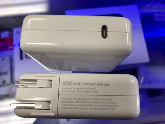 Original Apple 87W USB C Power Adapter/Charger + 2M CABLE image 3