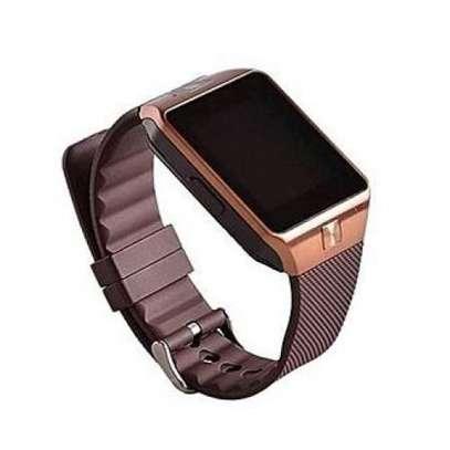 3smart Bluetooth Smart Watch -128MB ROM -64MB RAM Camera - Gold image 2
