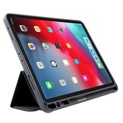MUTURAL Auto Wake Sleep Stand Smart Leather Tablet Case for iPad 10.2 With Pencil Holder image 2