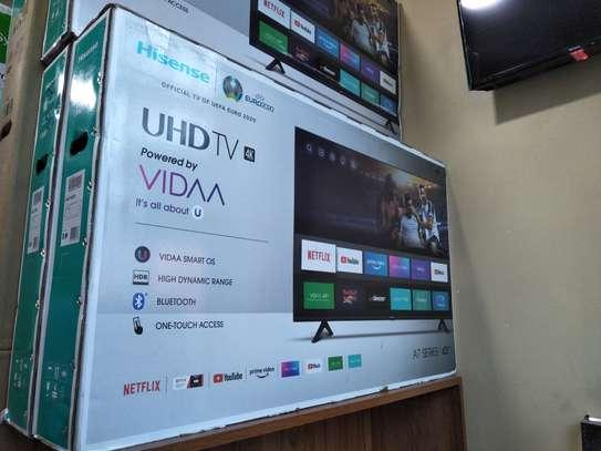 Hisense 43 inches smart 4k uhd Frameless image 1