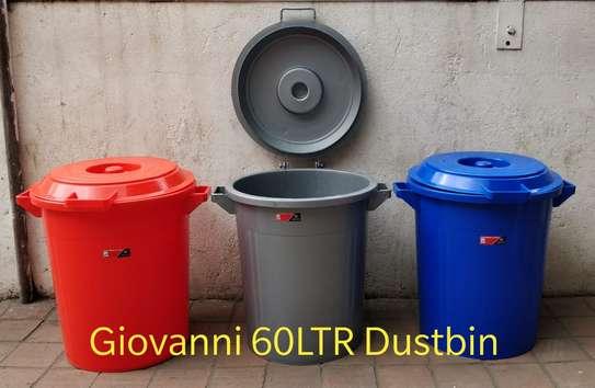 60ltrs plastic giovanni dustbin