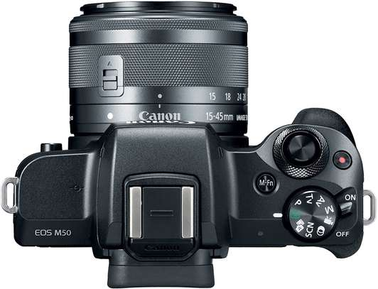 Canon EOS M50 Mirrorless Vlogging Camera Kit with EF-M 15-45mm lens image 5