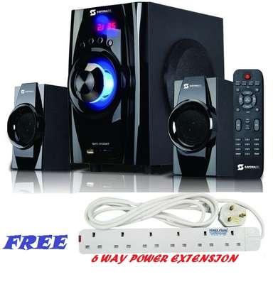 Sayona SHT-1156BT Subwoofer- Bluetooth,FM,AC/DC,USB/SD,AUX image 1