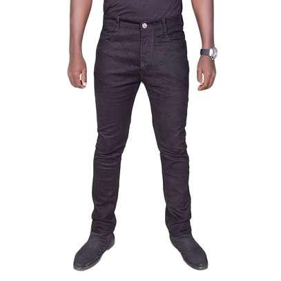 Black Plain Jeans