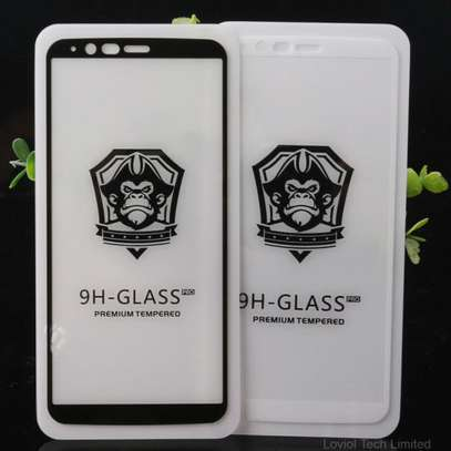 5D HD Clear Tempered Glass Front Screen Protector for Samsung A6 2018/ A6 Plus 2018 image 1
