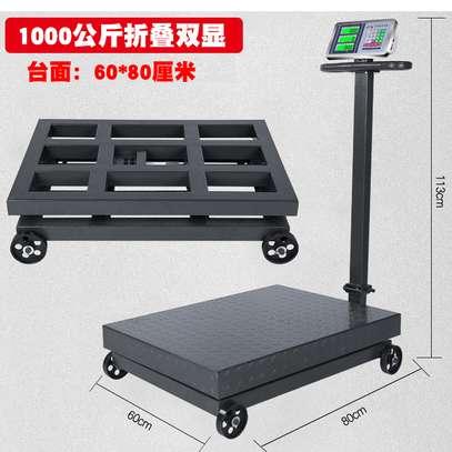 100kg 120kg 500kg SS Platform Digital Bench Weighing Scale image 1