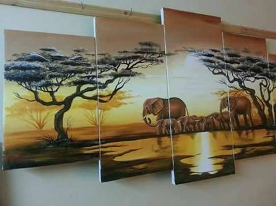 Sungura Art Painting Wall decor Painting On Canvas image 11