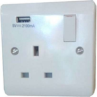 Single USB Socket
