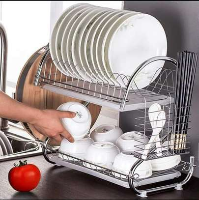 two tier dish drainer image 3