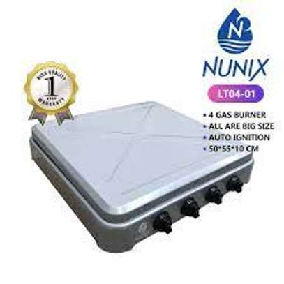 Nunix 4 Gas Burner Table Top Cooker image 2