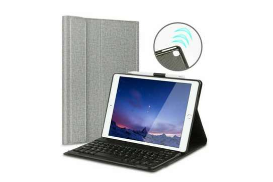Detachable Smart Wireless bluetooth Keyboard Kickstand Tablet Case For iPad Air 3 10.5 inches image 4