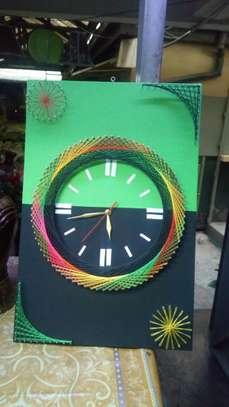 String Art wall clocks on offer!! image 5