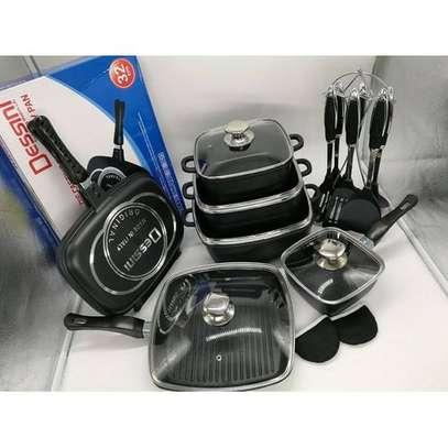 Dessini 21Pcs Imperial Non-Stick Die Cast Cookware Set image 1