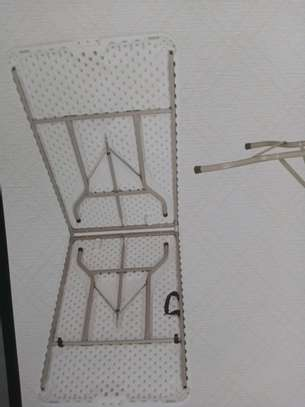 Foldable tables and chairs are available on offer image 2