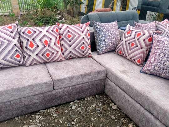 6 Seater L shaped Sofa/Comfy Sofa design image 1