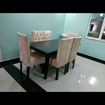 Functional Modern Quality 6 Seater Dining Set image 1