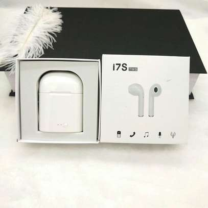 I7 TWS iPod twins bluetooth wireless stereo earbuds image 2