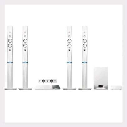 Sony BDV-N9200WL – 5.1ch Blu-ray 3D Smart Home Theatre System – 1200W White image 1