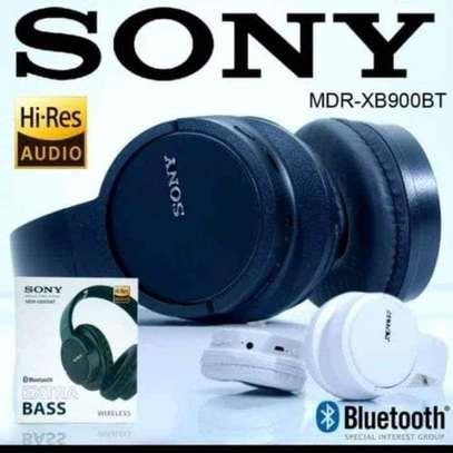 SONY MDR-XB900BT BLUETOOTH HEADPHONES image 1