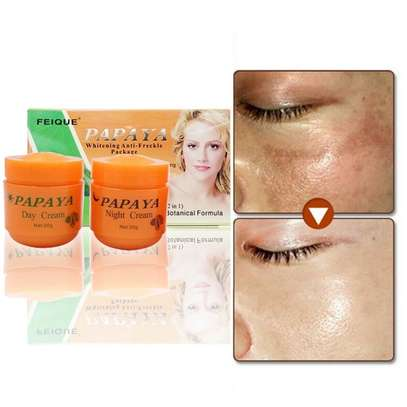 PAPAYA Whitening   Natural botanical formula skin care whitening cream. image 6
