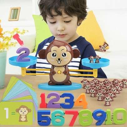 Monkey Balance Math Game for Girls Boys Educational Toys image 3